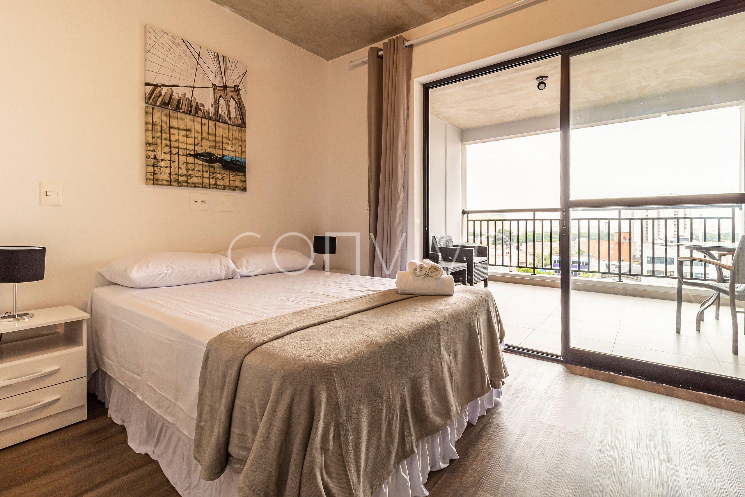 Vnbr803 Minimalist Apartment In Bom Retiro